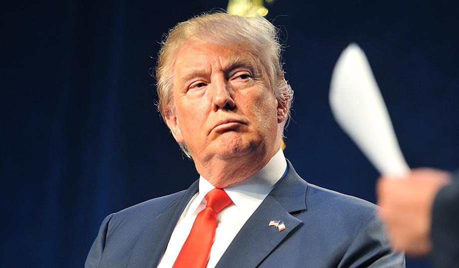 Donald Trump White hair