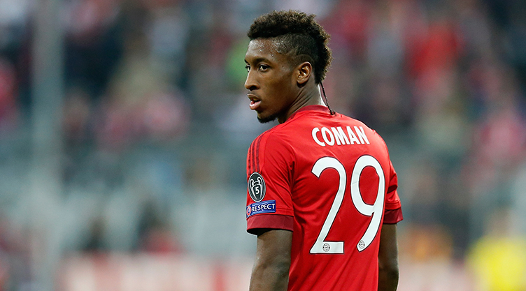 Kingsley Coman Hairstyle