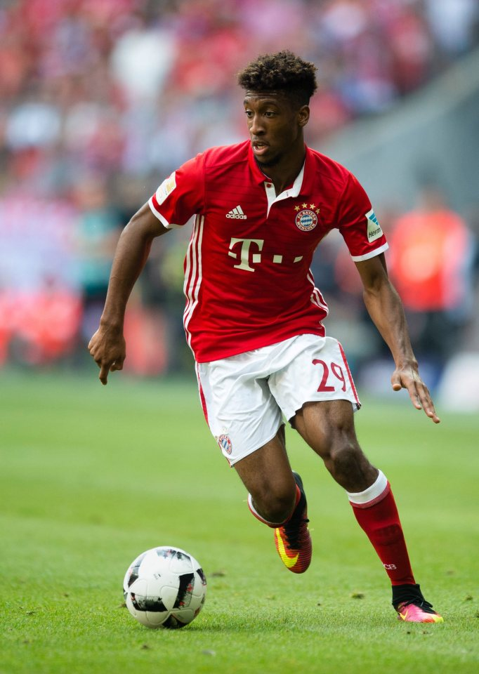Kingsley Coman pictures