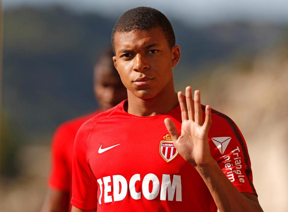 Kylian Mbappe Hairstyles 2018