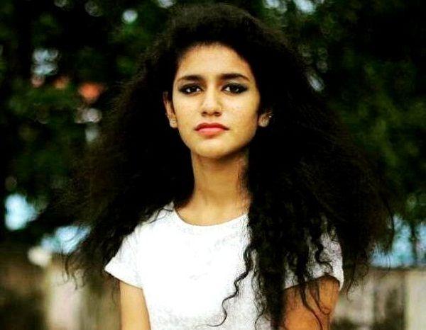 Priya Prakash Varrier Haircuts