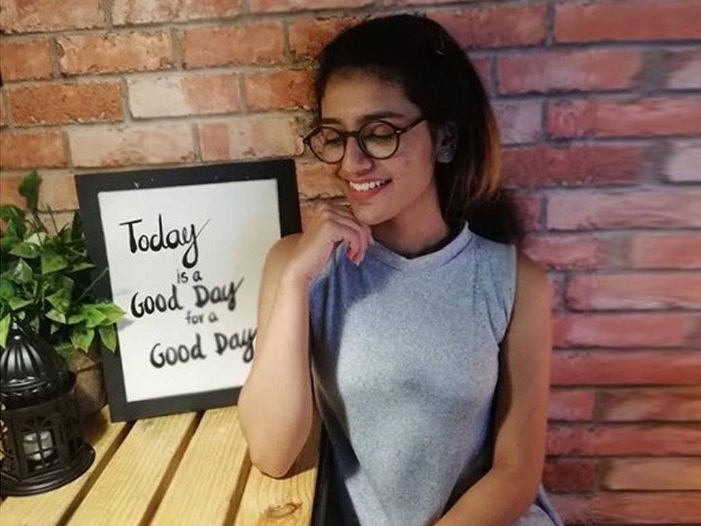 Priya Prakash Varrier Hairstyles 2018
