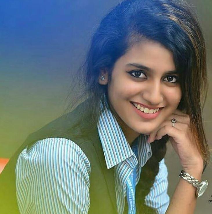 Priya Prakash Varrier Hairstyles