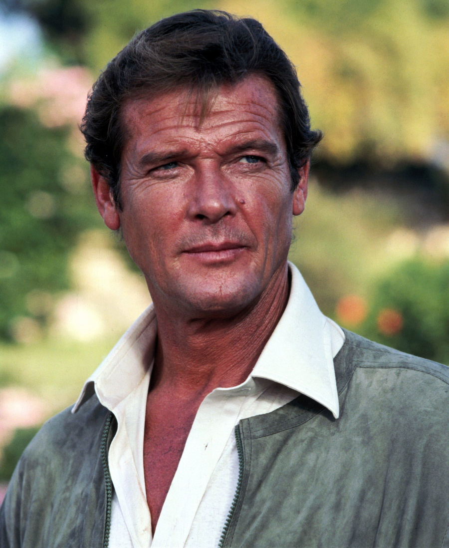 Roger Moore Hairstyle