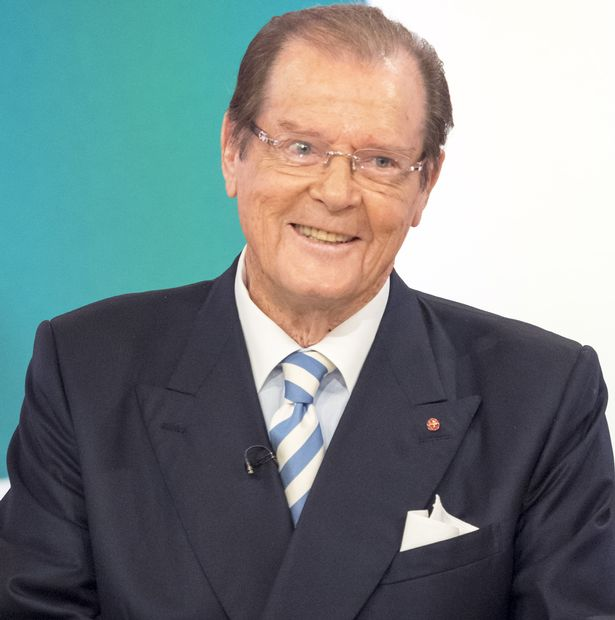 Roger Moore new Hairstyles