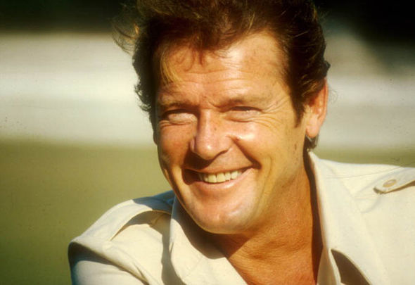 Roger Moore smile