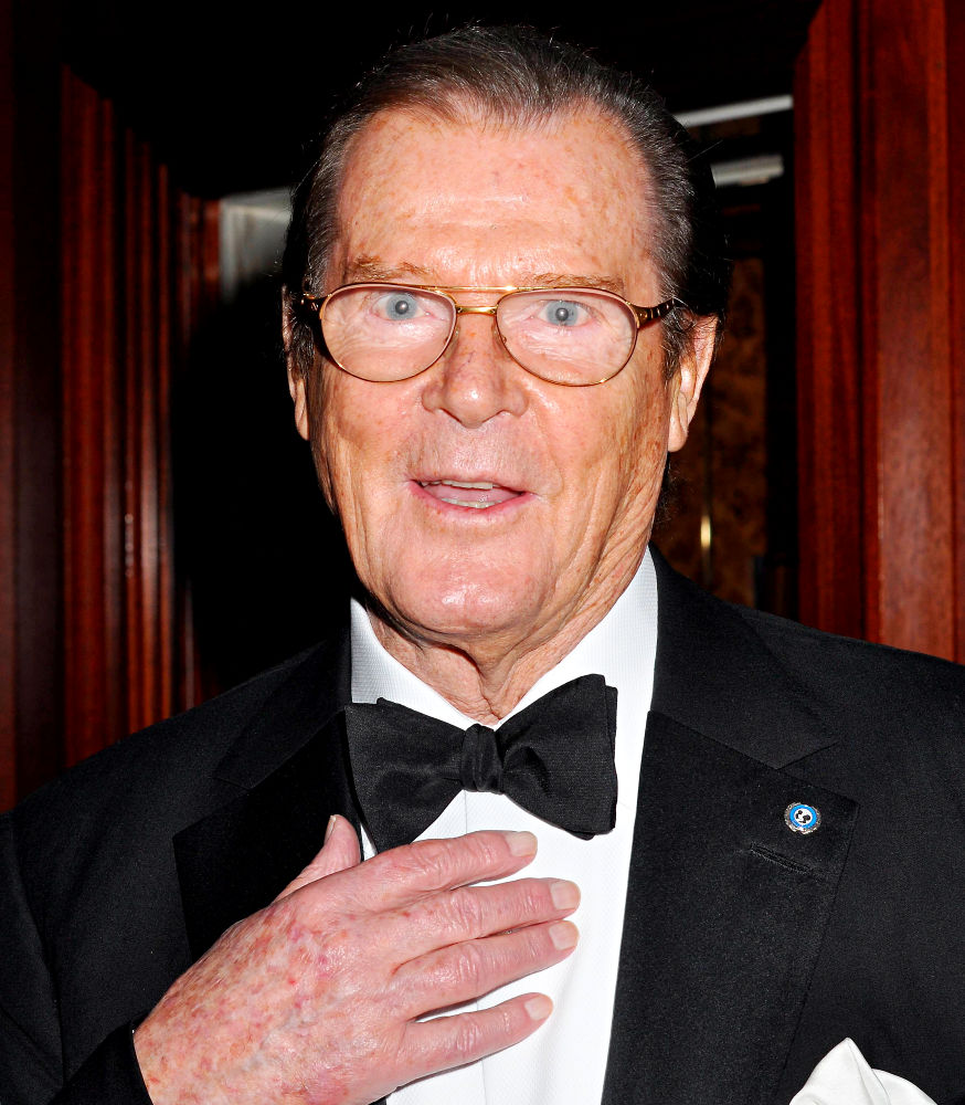 Sir Roger George Moore KBE actor