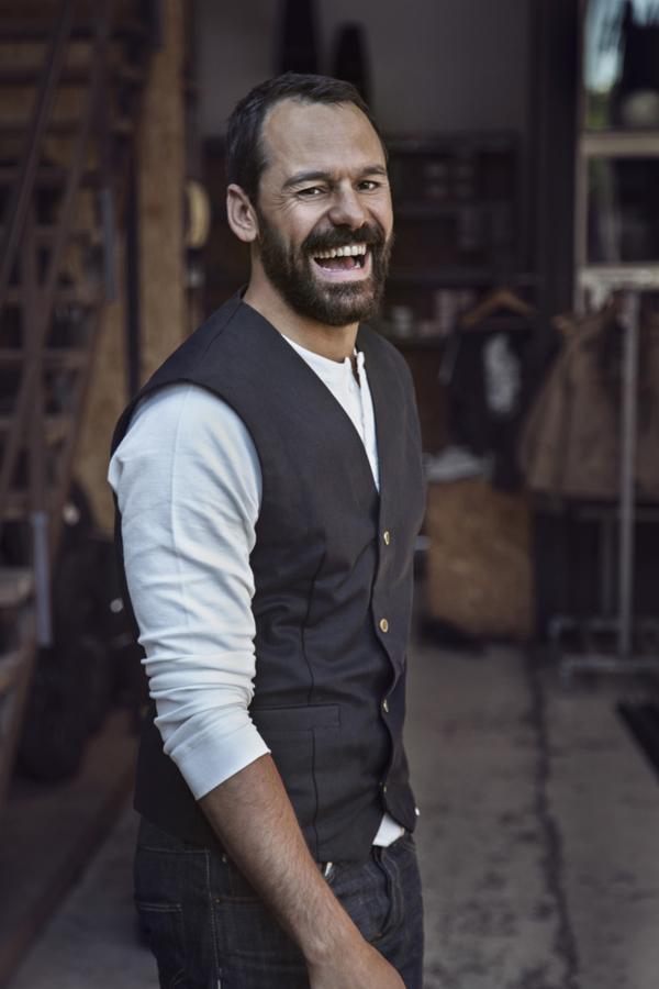 Casper Crump smile pic