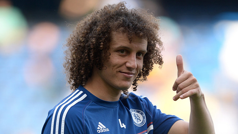 David Luiz new Hairstyles