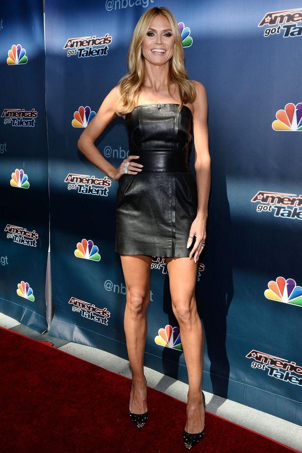 Heidi Klum new Hairstyles 2017