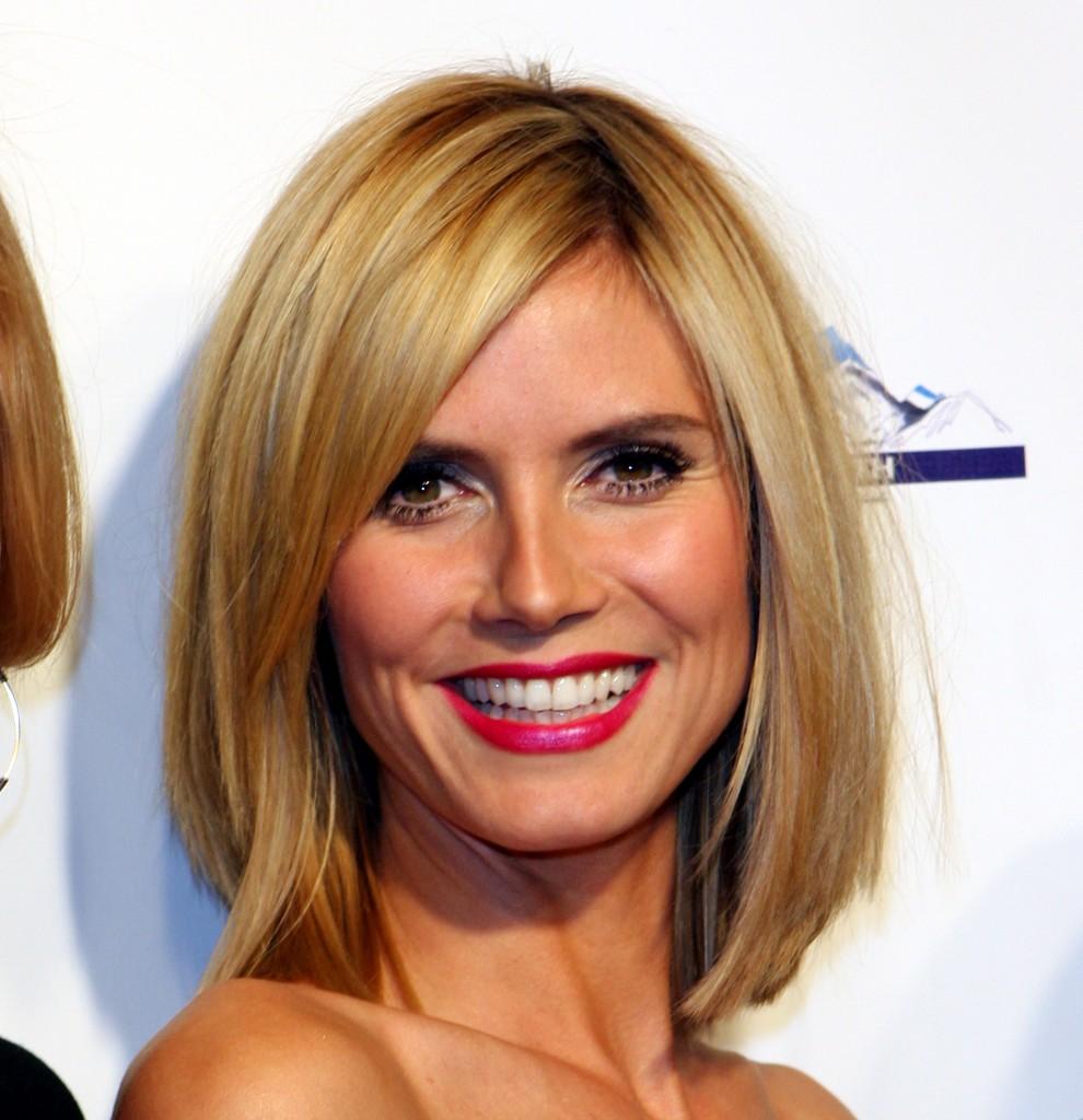 Heidi Klum Hairstyles Celebrity Haircuts