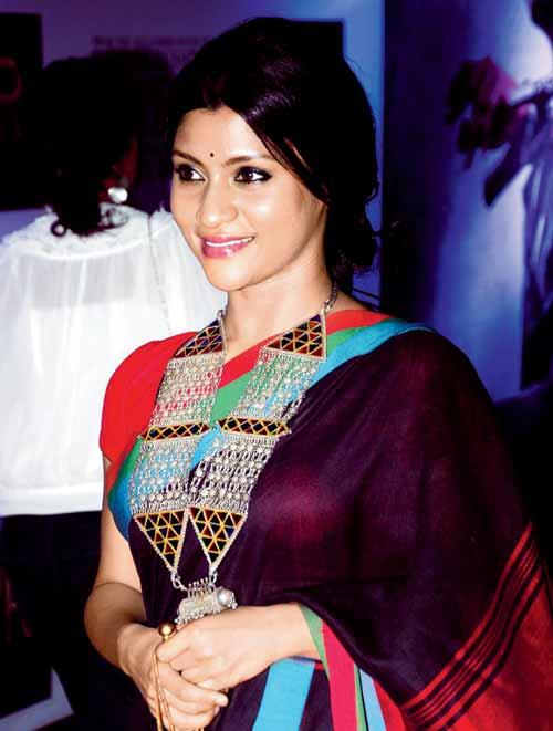 Konkona Sen Sharma Hairstyles 2017