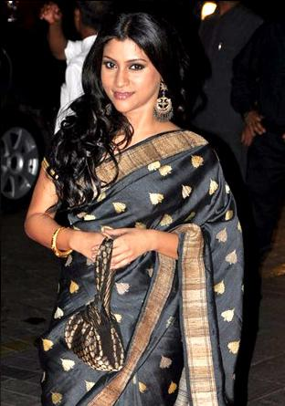 Konkona Sen Sharma Hairstyles