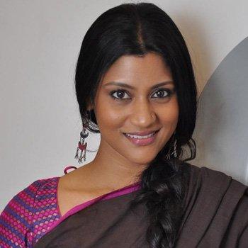 Konkona Sen Sharma new Hairstyles 2017