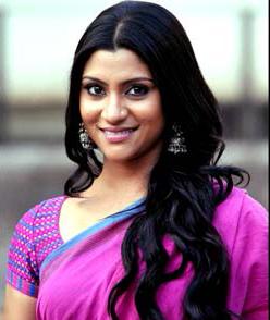 Konkona Sen Sharma new Hairstyles