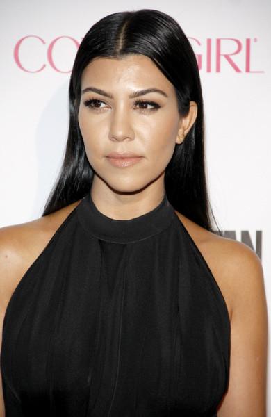 Kourtney Mary Kardashian hairstyle