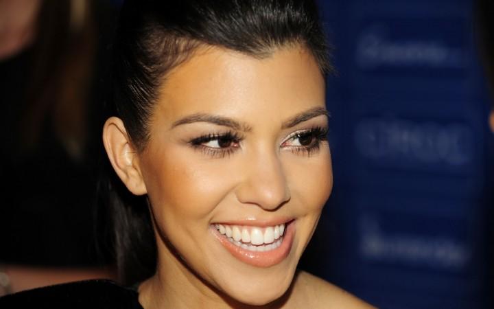 Kourtney Mary Kardashian smile