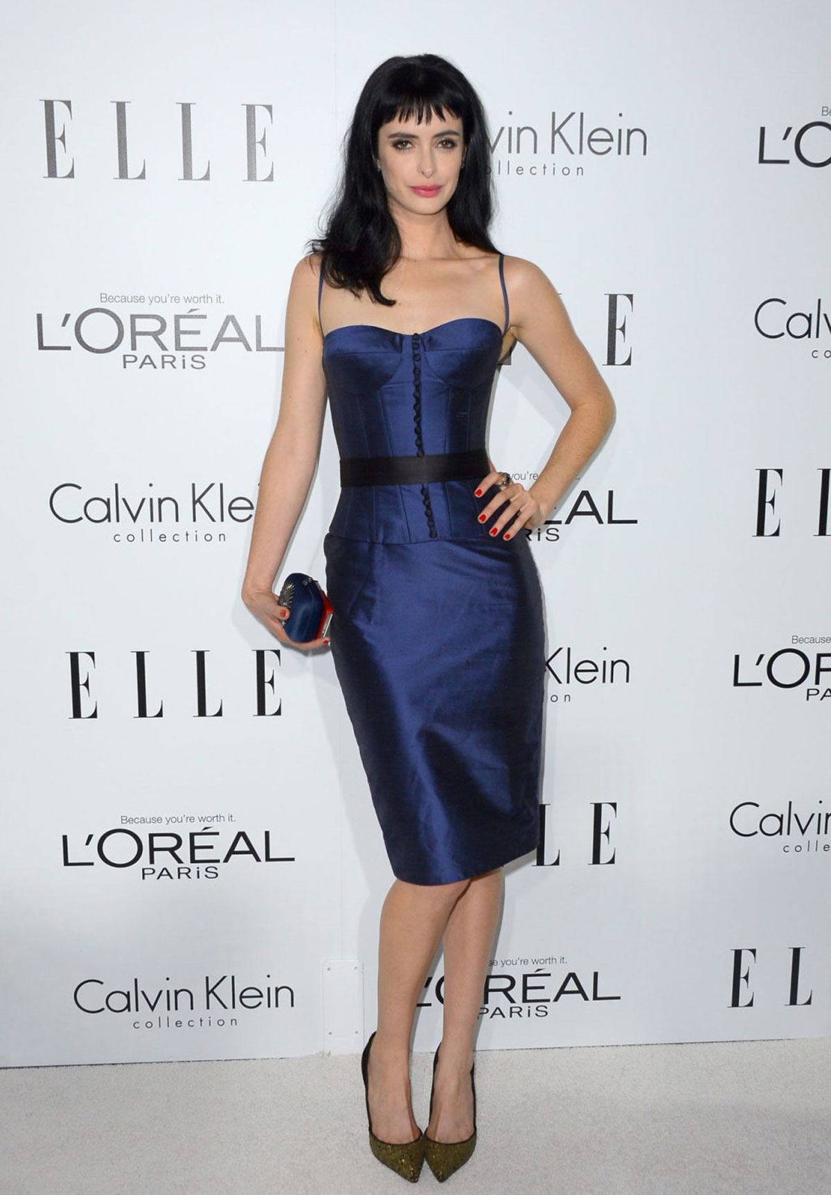KRYSTEN RITTER at ELLE's Women in Hollywood Event in Beverly Hills