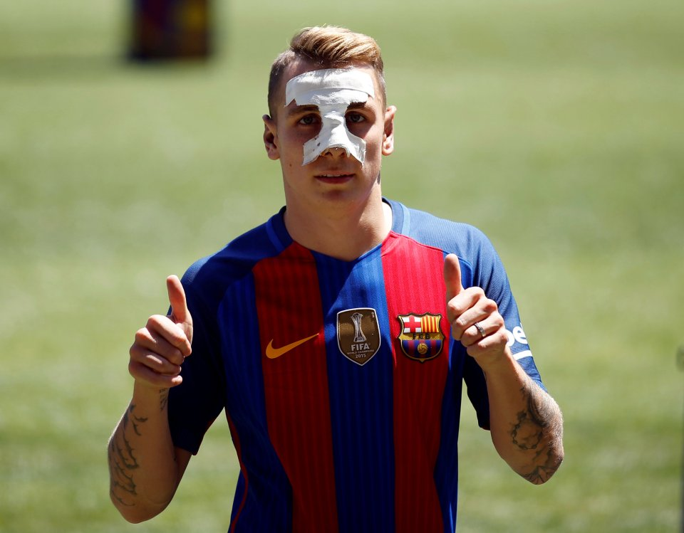 Lucas Digne Hairstyles1