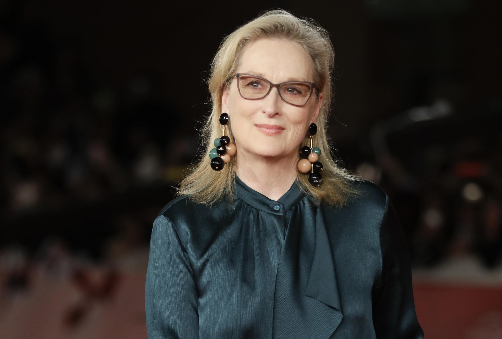 Meryl Streep glass