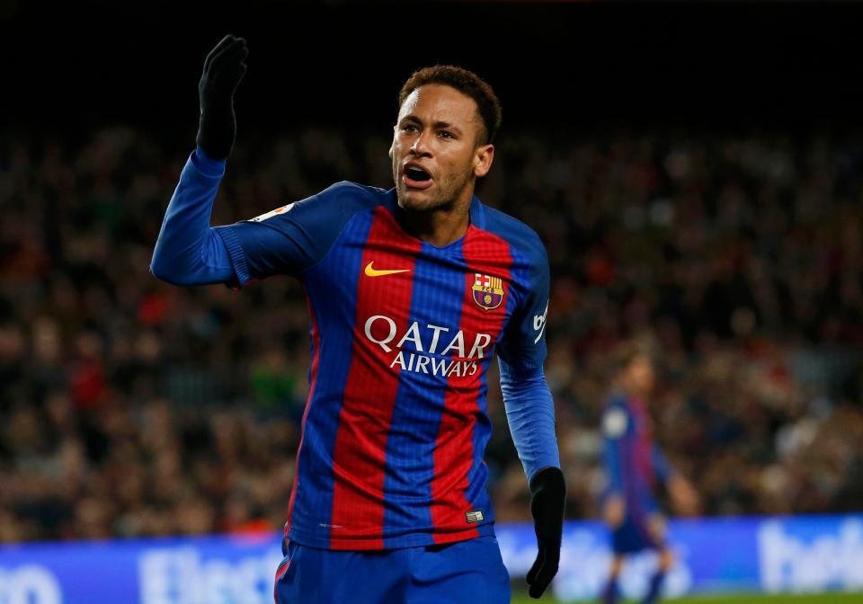 Neymar Haircuts 2017