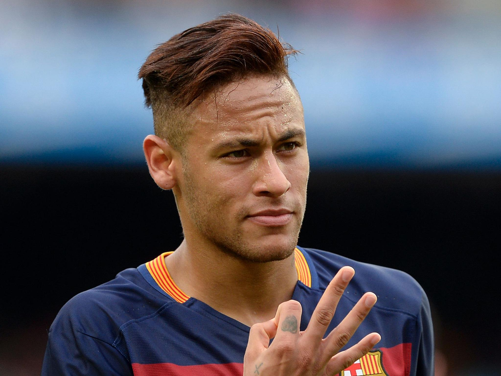 Neymar da Silva Santos Junior Hairstyles