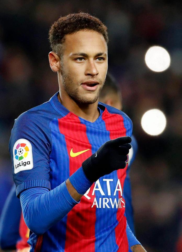 Neymar da Silva Santos Junior Hairstyles1