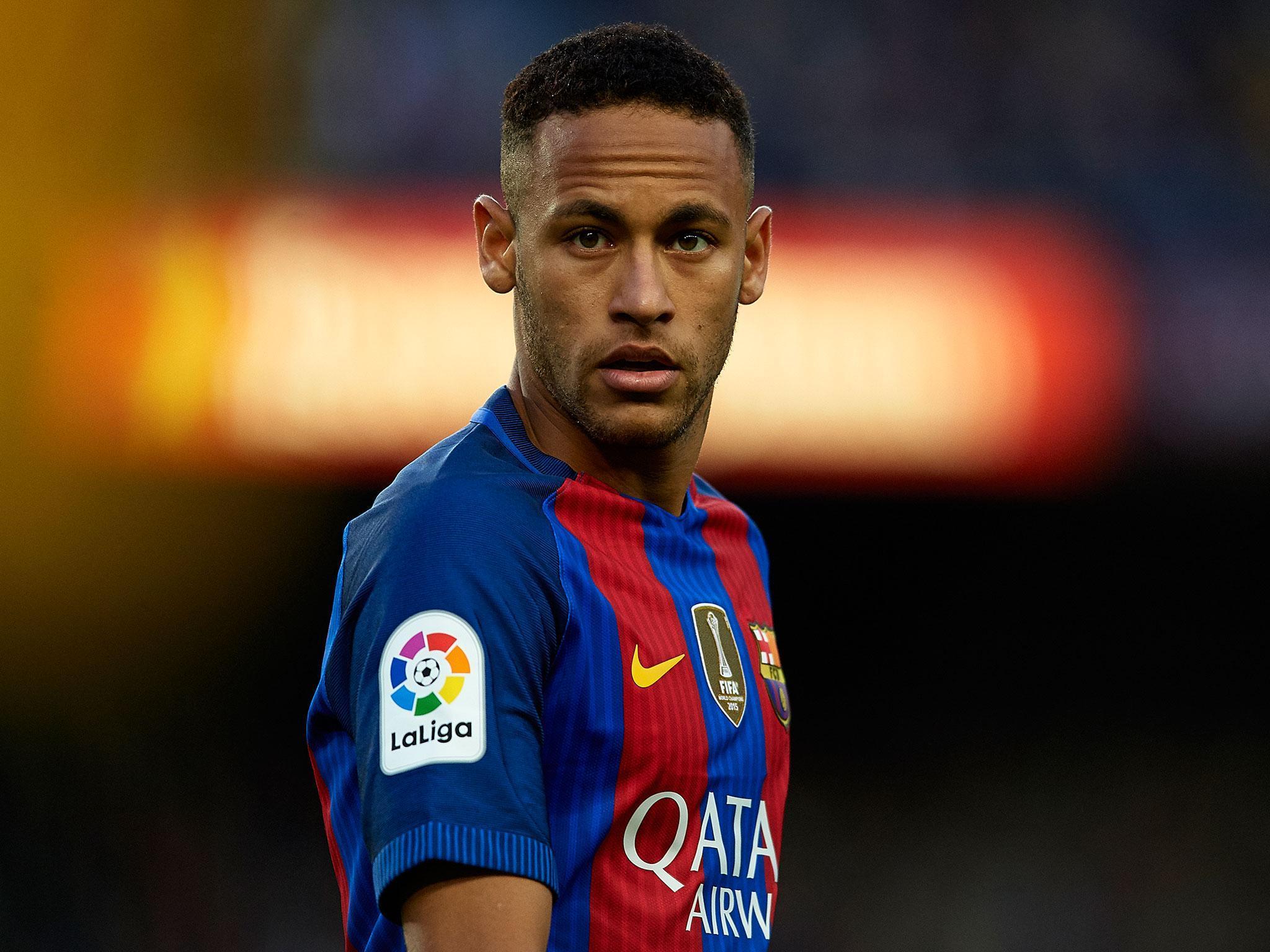 Neymar da Silva Santos Junior new Haircuts