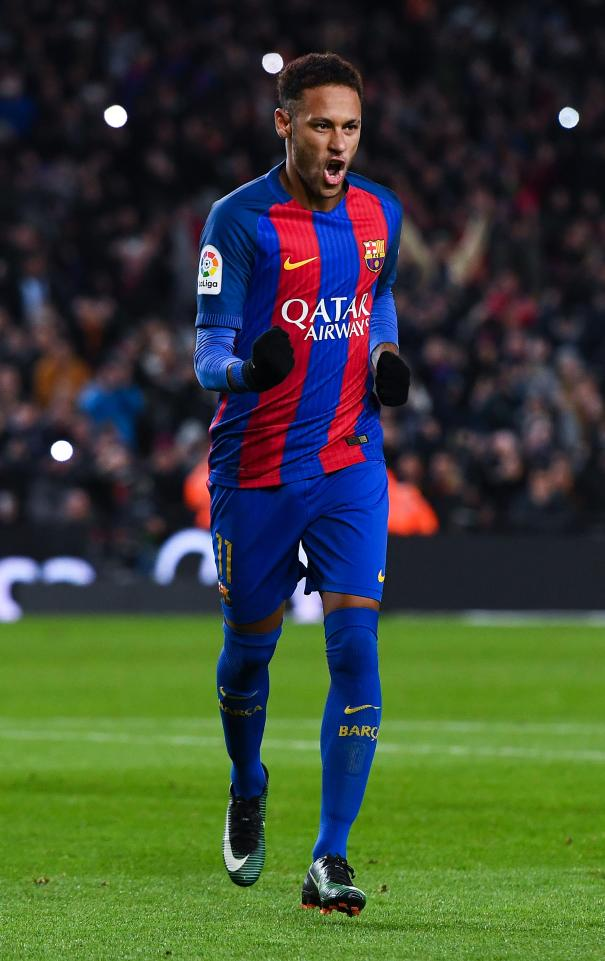 Neymar da Silva Santos Junior new Hairstyles 2017