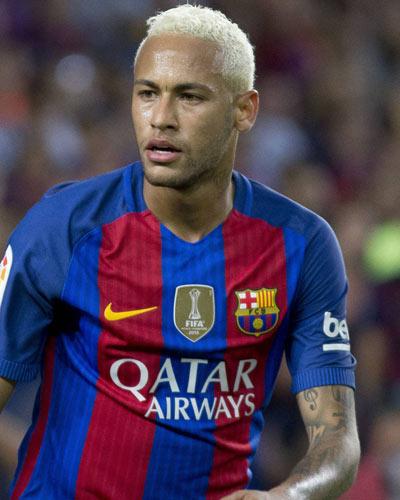 Neymar new hairs