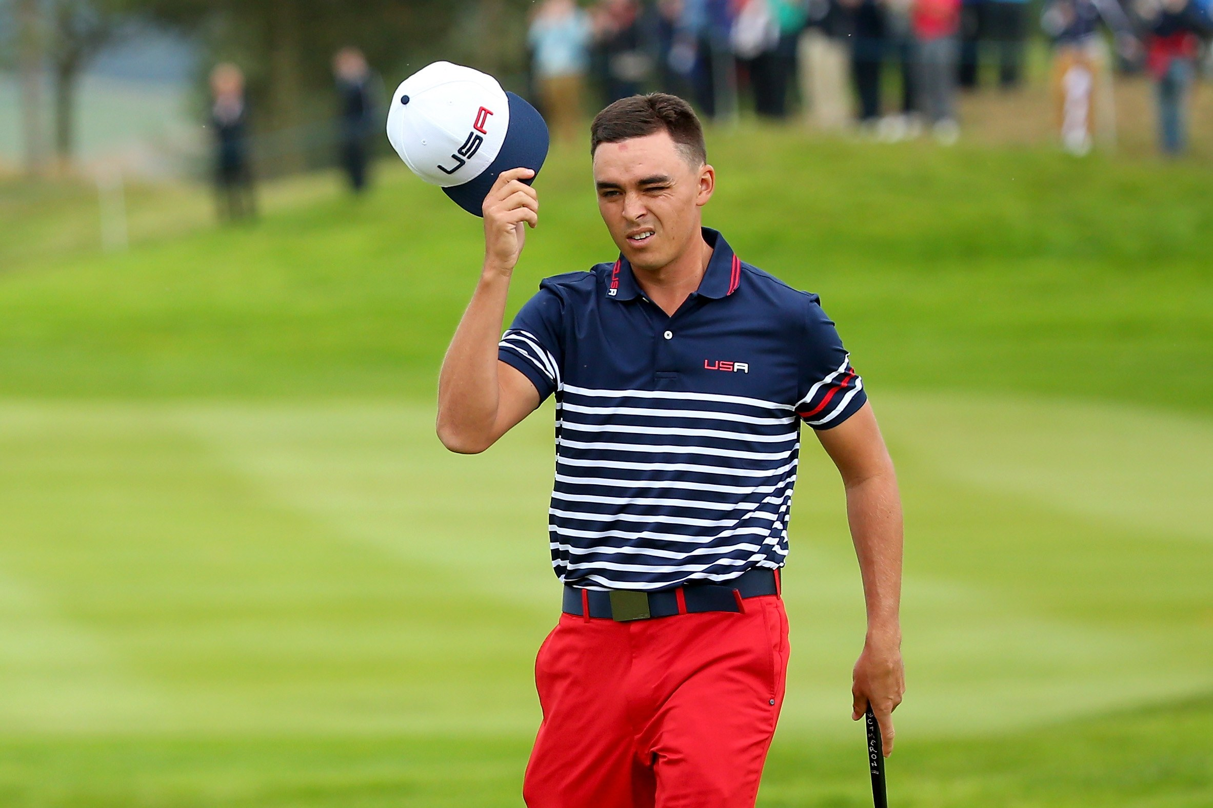 Rickie Fowler Hairstyle