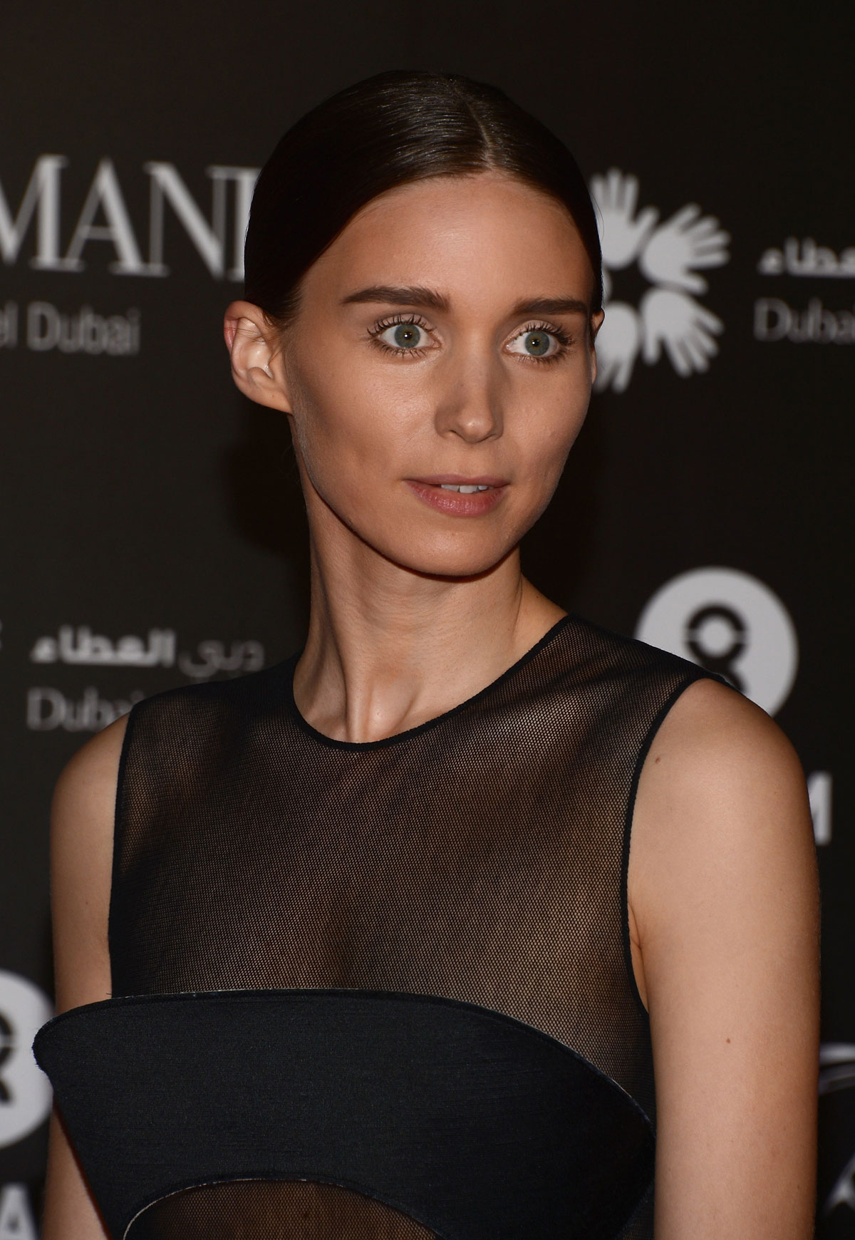 ROONEY MARA at One Night to Change Lives Charity Gala in Dubai