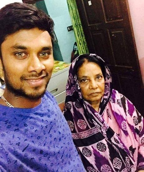 Sabbir Rahman family