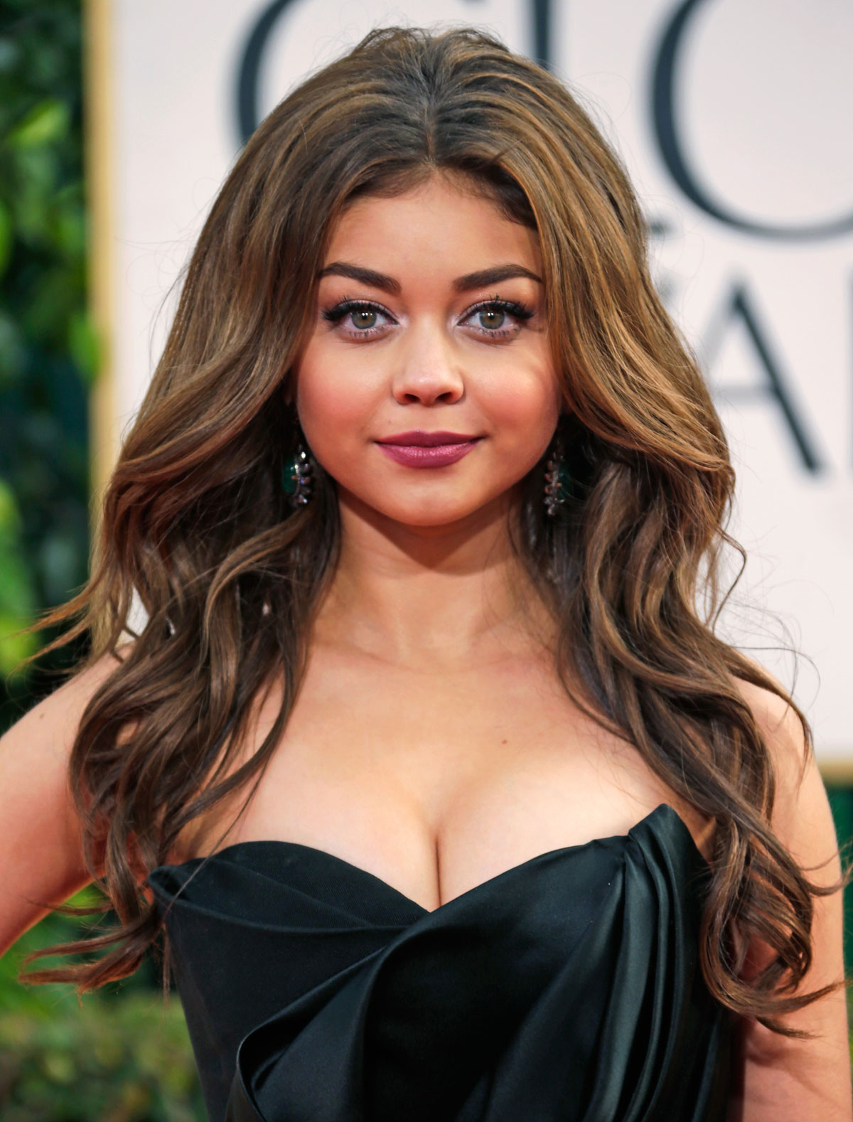 SARAH HYLAND at 70th Annual Golden Globe Awards in Beverly Hills
