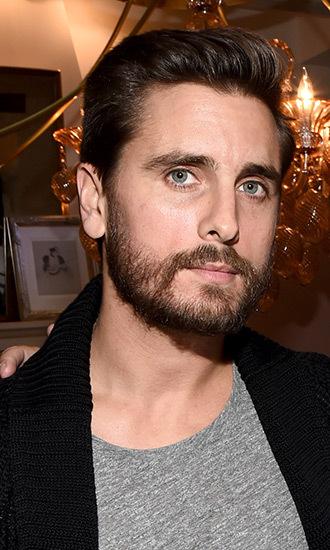 Scott Disick beard 2017