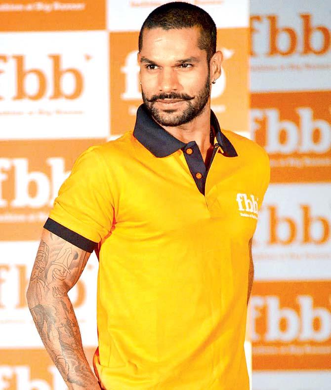 Shikhar Dhawan Hairstyles