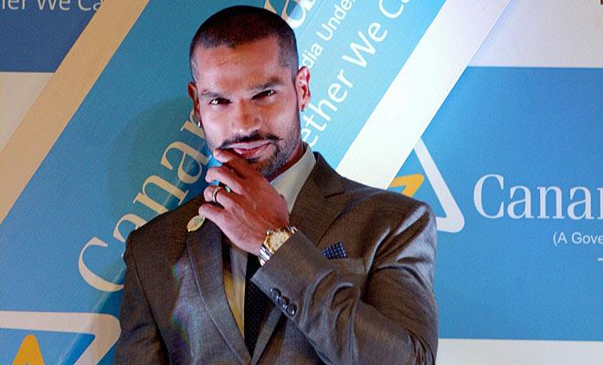 Shikhar Dhawan short Haircuts