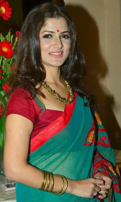 Srabanti Chatterjee smile