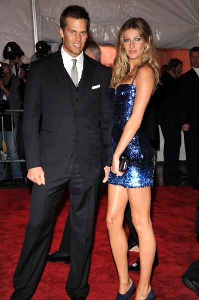 Tom Brady and Gisele Bundchen attend